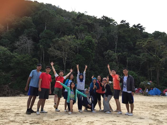 Sempu Island with my friends!