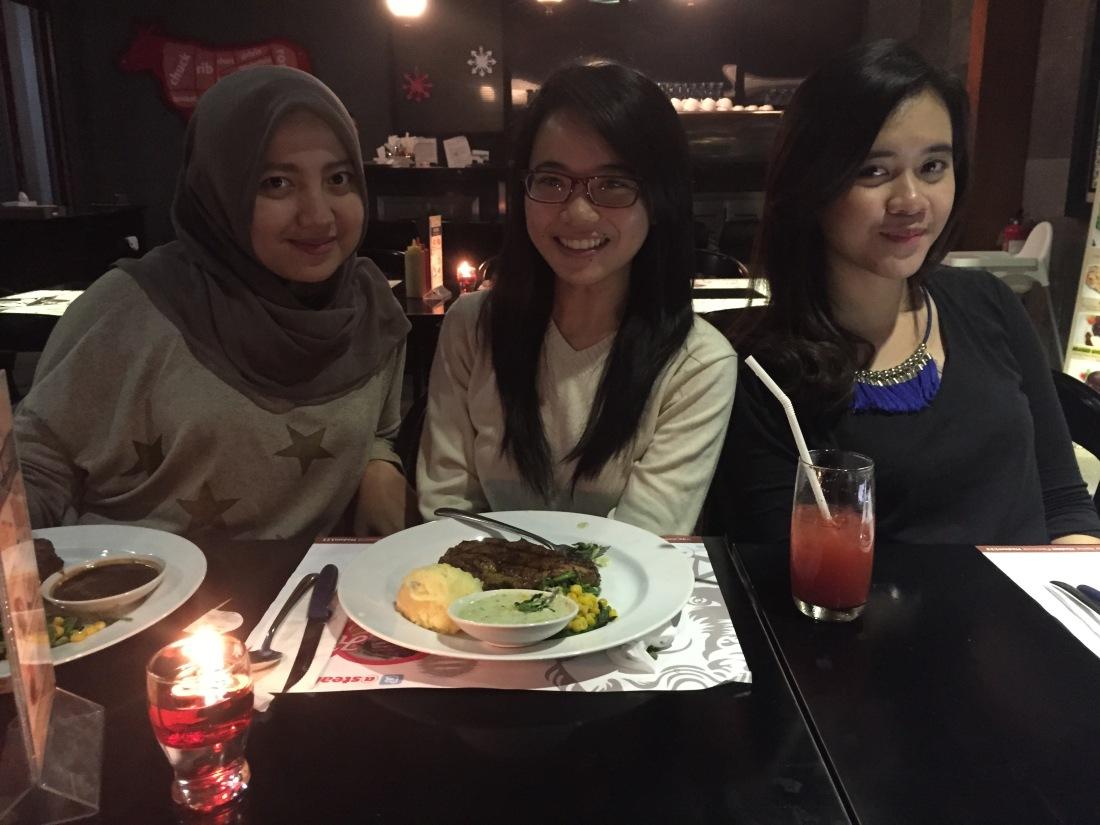 Reisha, Inez, and Mba Iyong