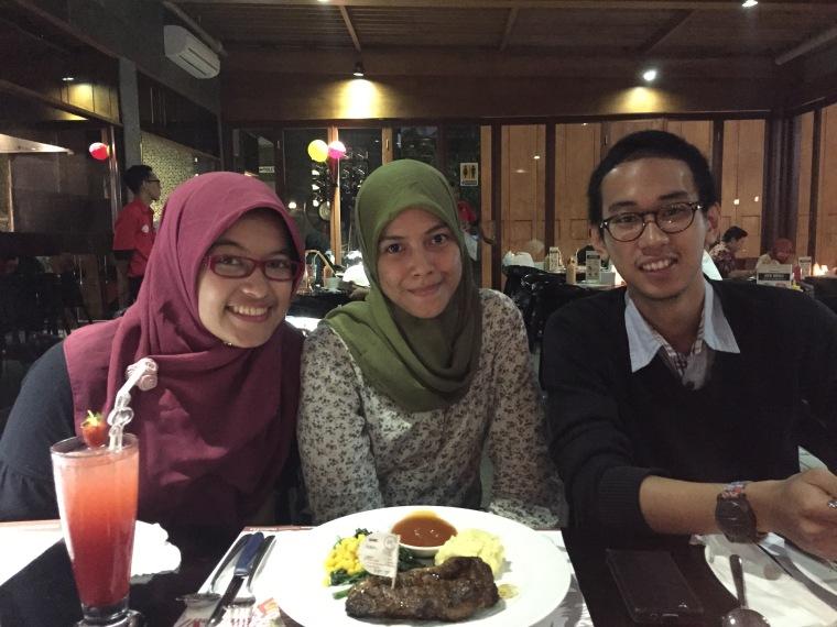 Dhani, me, and Ikal