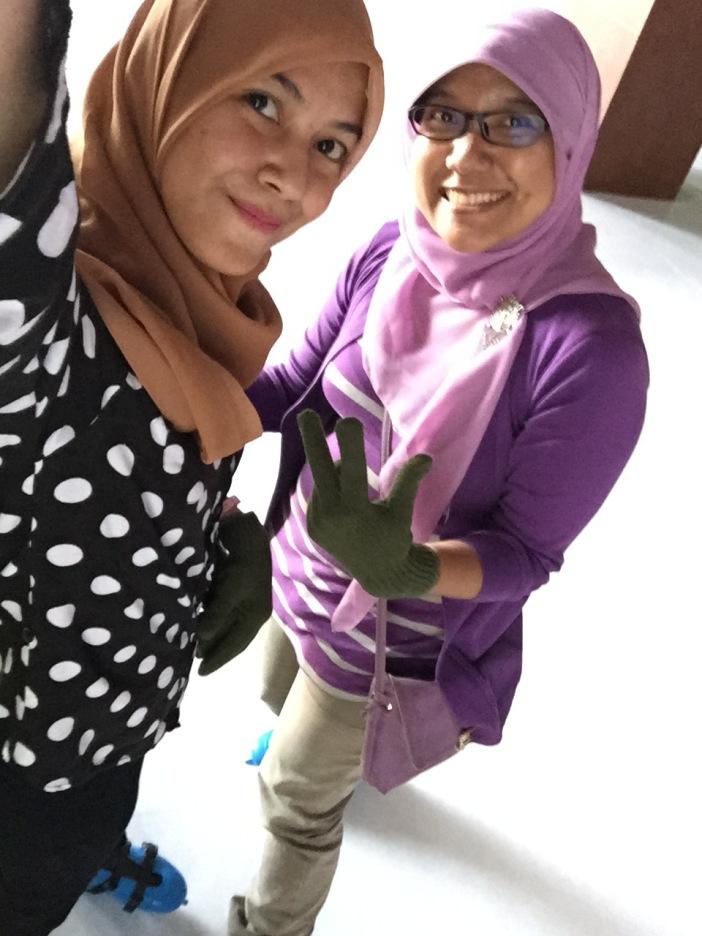 me and Mbak Netri ;)